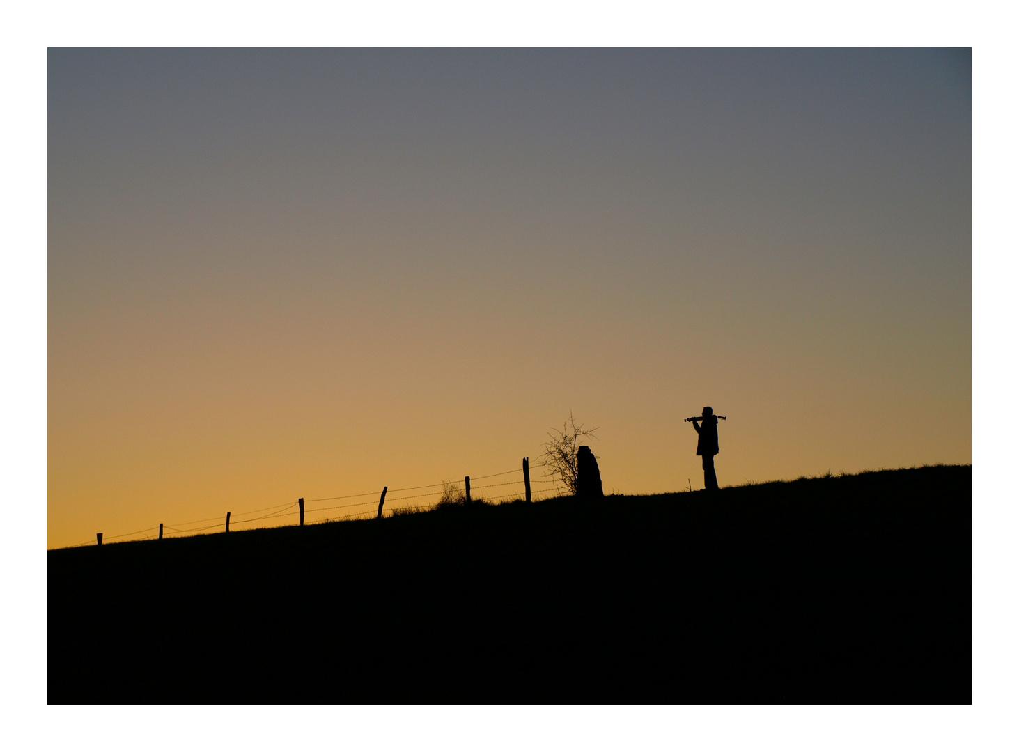 Der einsame (Foto)jäger