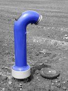 Der einsame Hydrant wartet auf Anschluss...