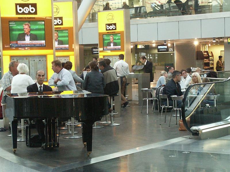 Der einsame Pianist ...
