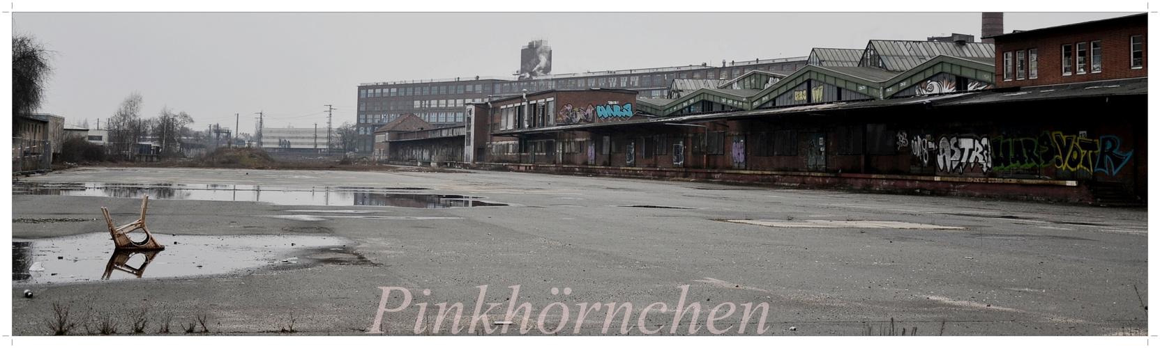 Der einsame Stuhl vom Hauptgüterbahnhof