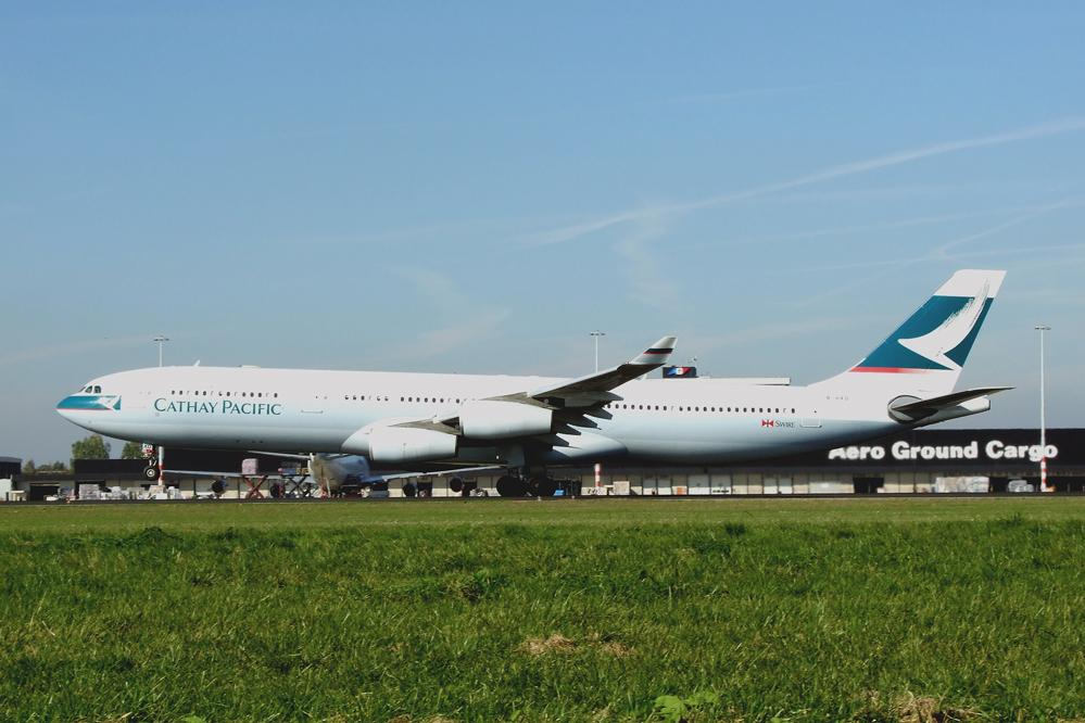 Der einzige A340 ...