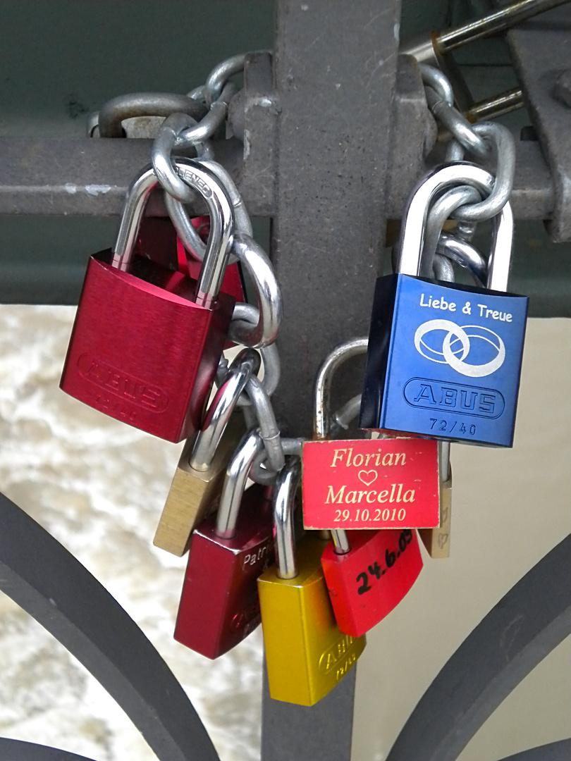 """Der """"Eiserne Steg"""" in Frankfurt am Main"""