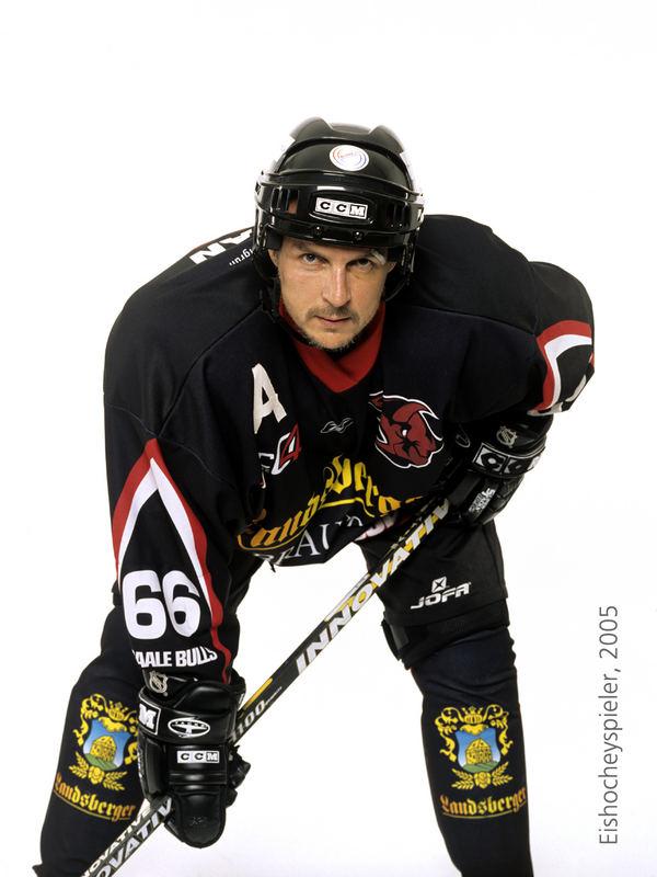 Der Eishockeyspieler