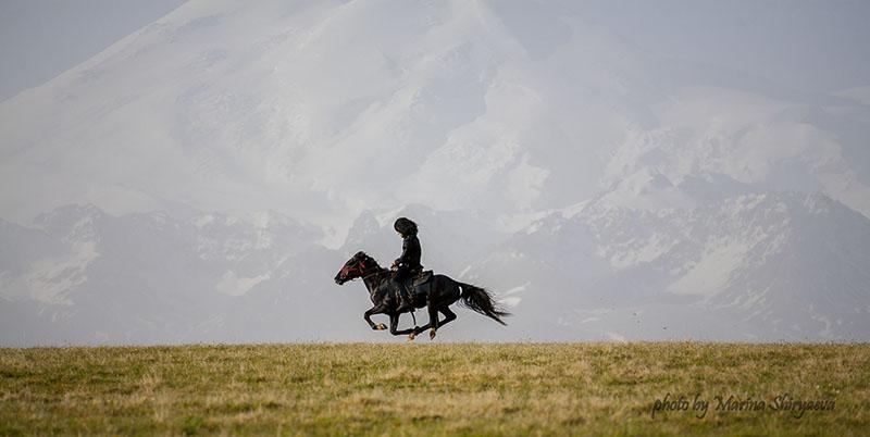 der Elbrus (Kaukasus)