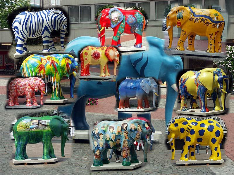 Der Elefanten-Pfad in Hamm
