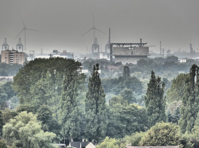 Der Energiebunker Hamburg Wilhelmsburg