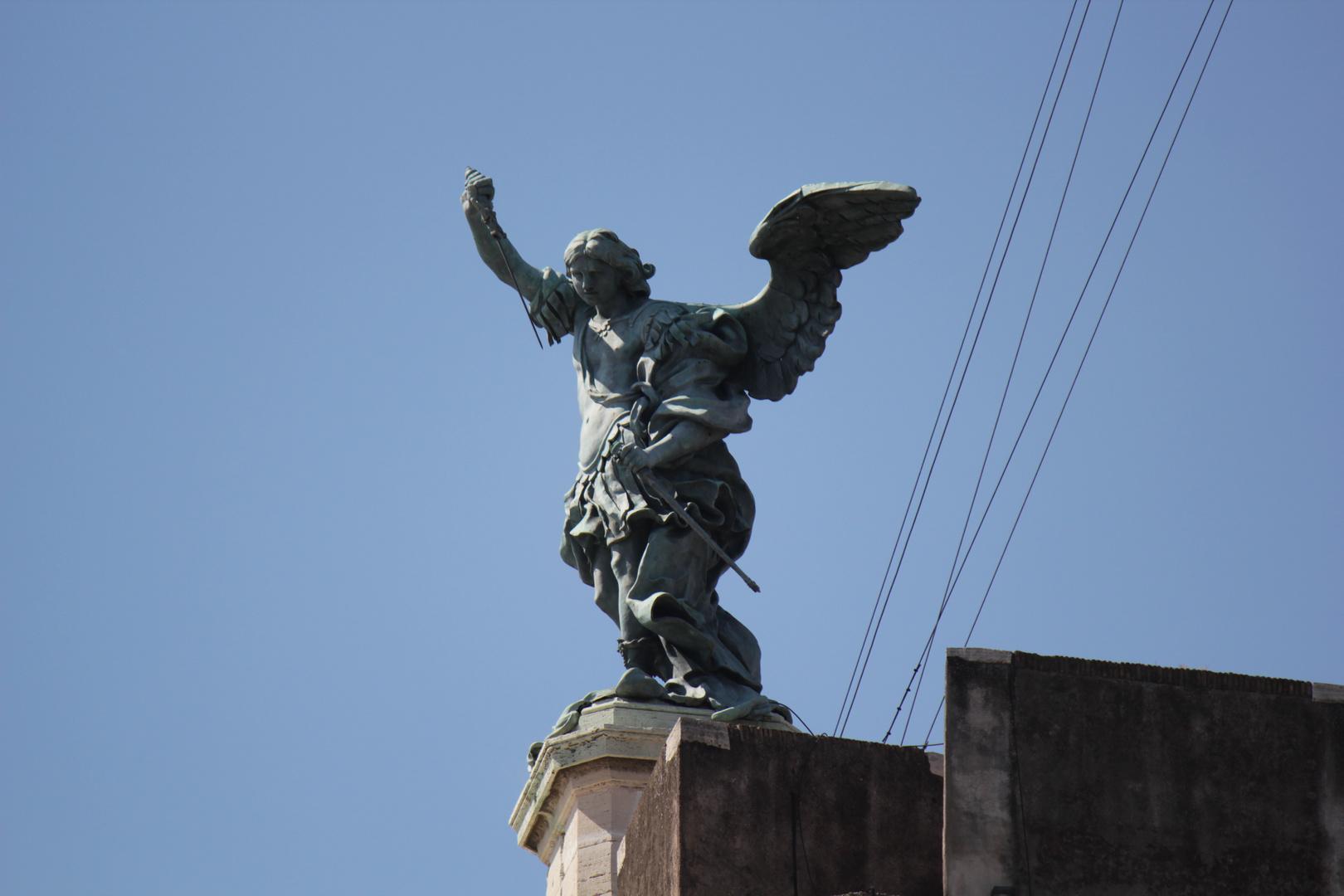 Der Engel auf der Engelsburg in Rom