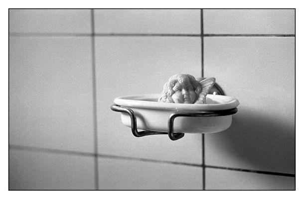 Der Engel des Badezimmers