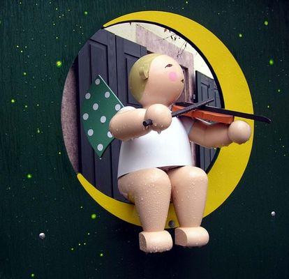 Der Engel mit der Geige
