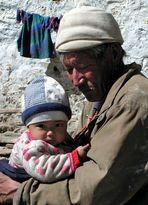 Der Enkel und der Opa ...