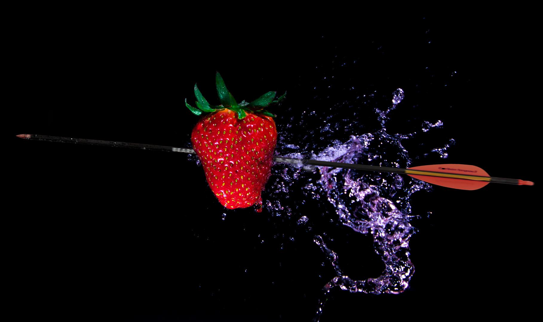 Der Erdbeerschuss