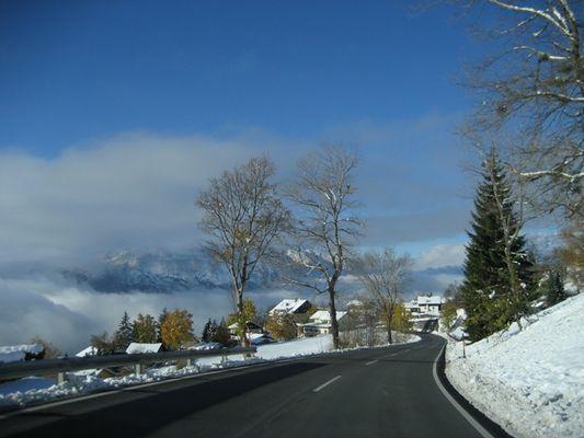 Der erst Schnee am Iselsberg