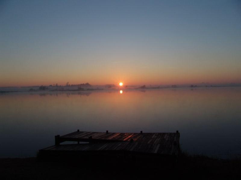 der erste Blick am Morgen