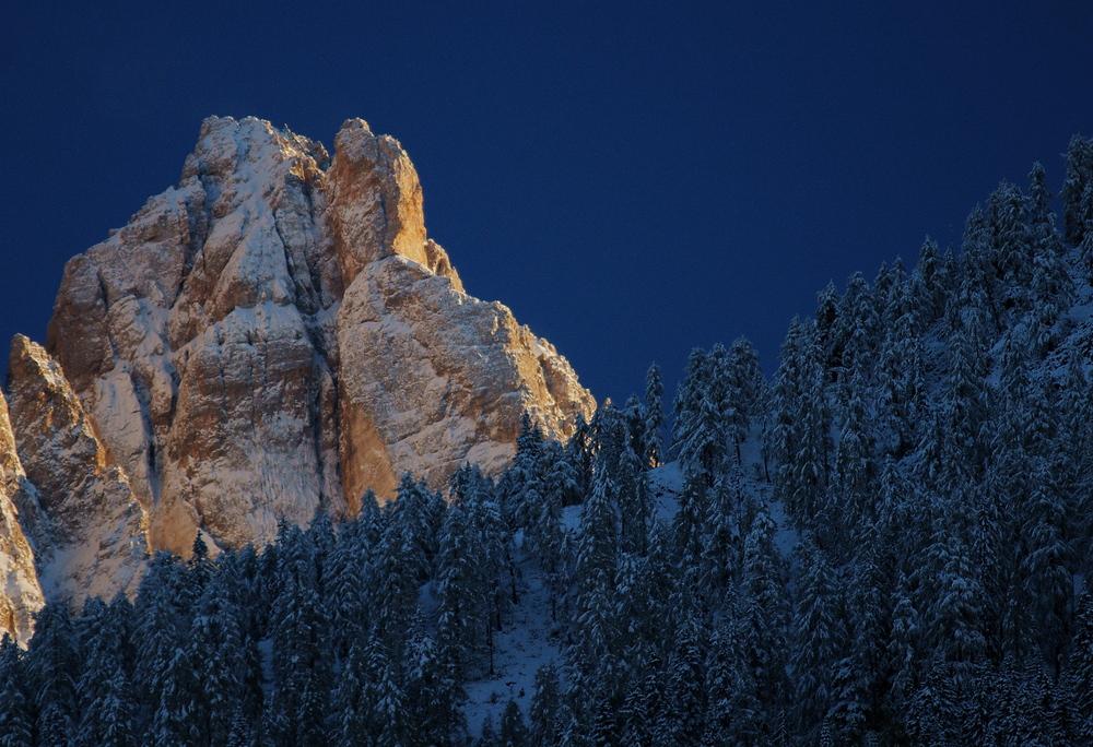 der erste große Schnee in den Dolomiten 2013