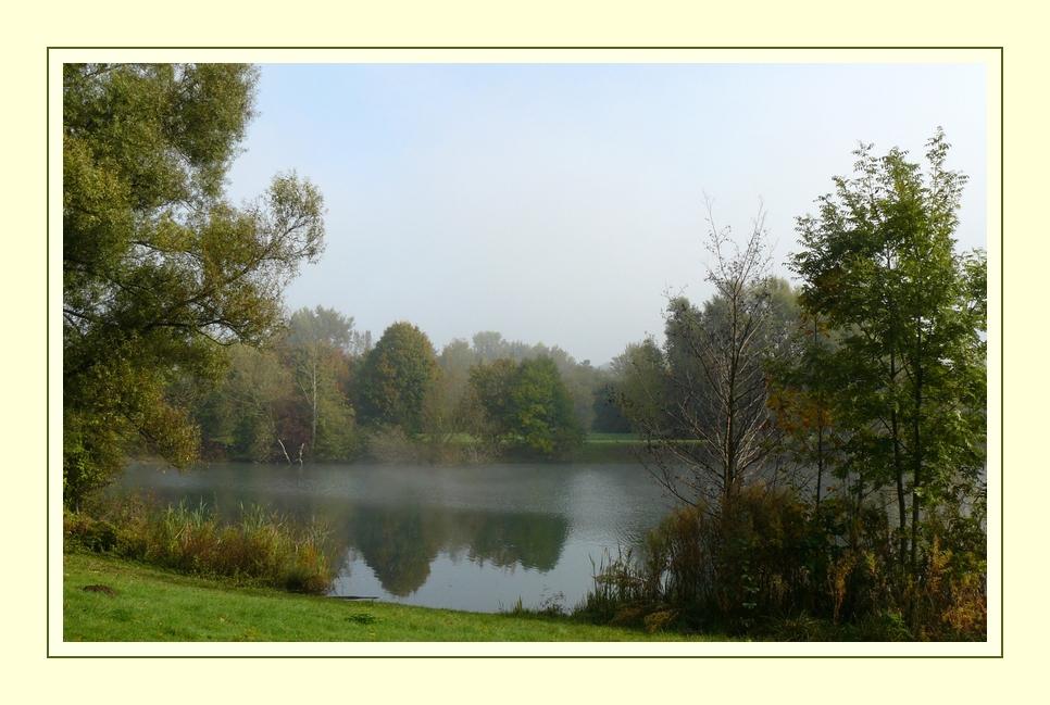 Der erste Herbstnebel... -2-