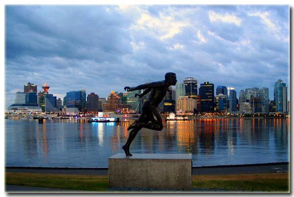 der erste kanadische Olympia Sieger