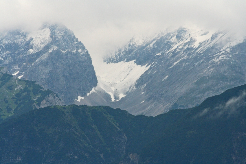 Der erste Schnee 2008
