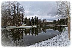 der erste Schnee im Vogtland