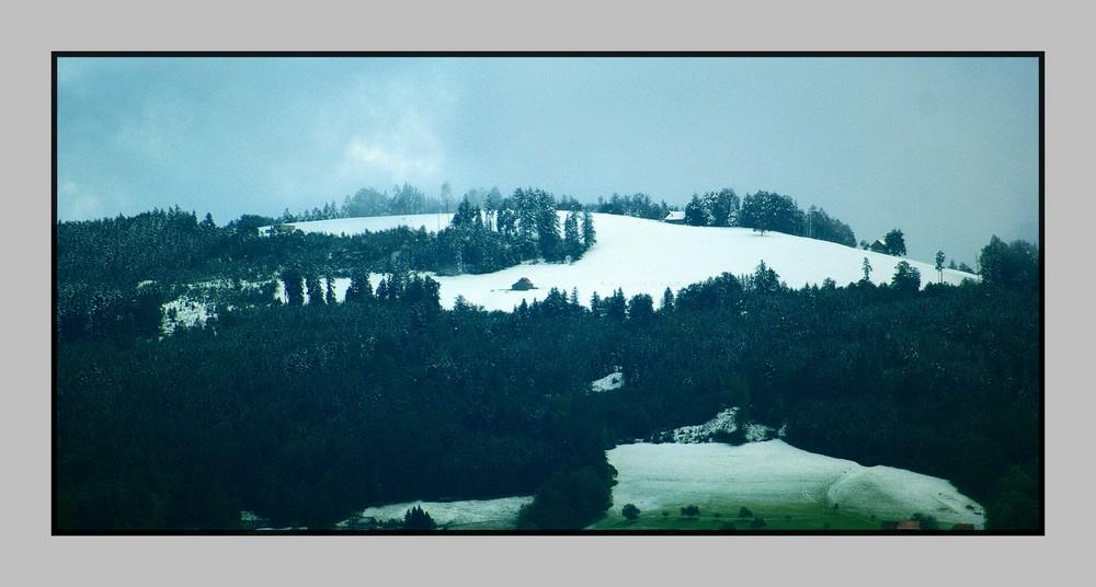 Der erste Schnee ist da