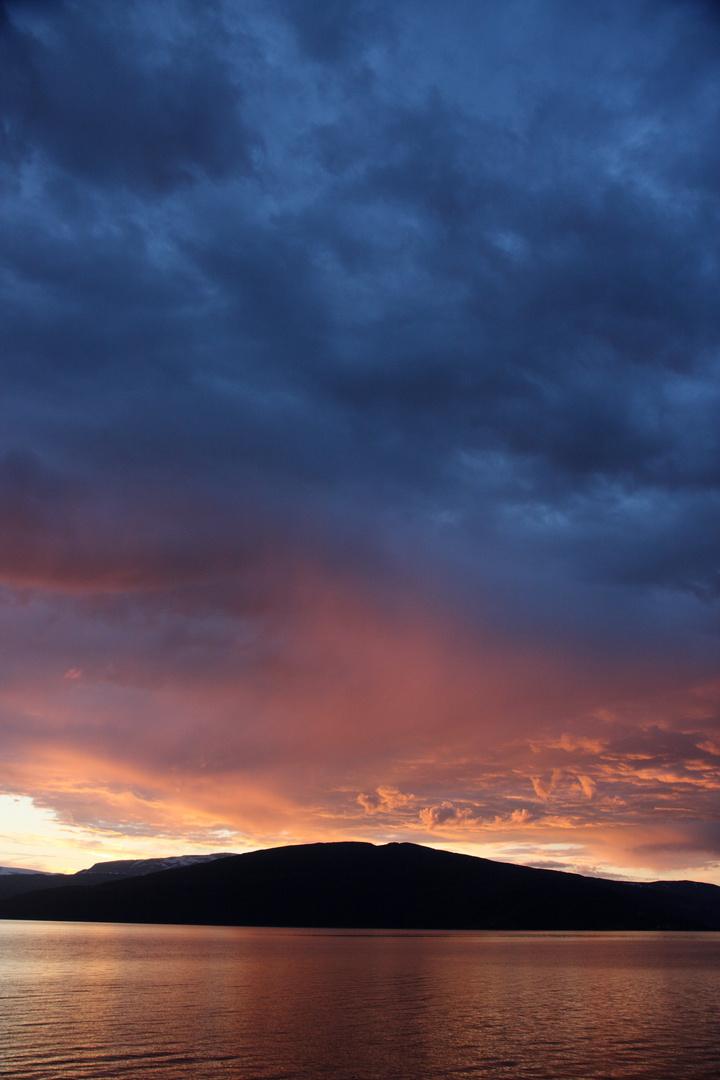 Der erste Sonnenuntergang...