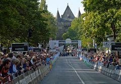 Der Etappenort Neuss wartet auf die Fahrer der Deutschland-Tour 2008