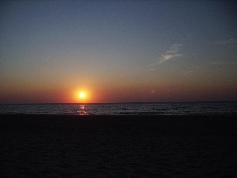 Der etwas andere Sonnenuntergang!