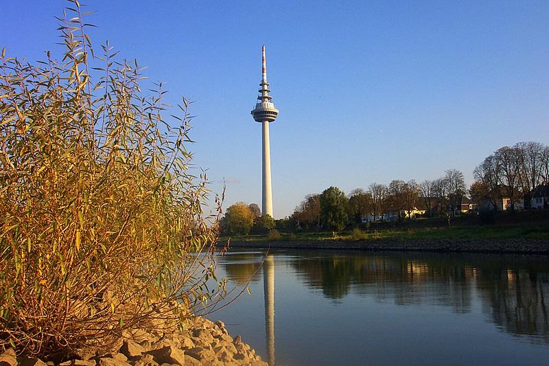 Der etwas andere Wasserturm vun Mannem.