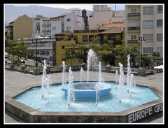 Der Europaplatz in Puerto