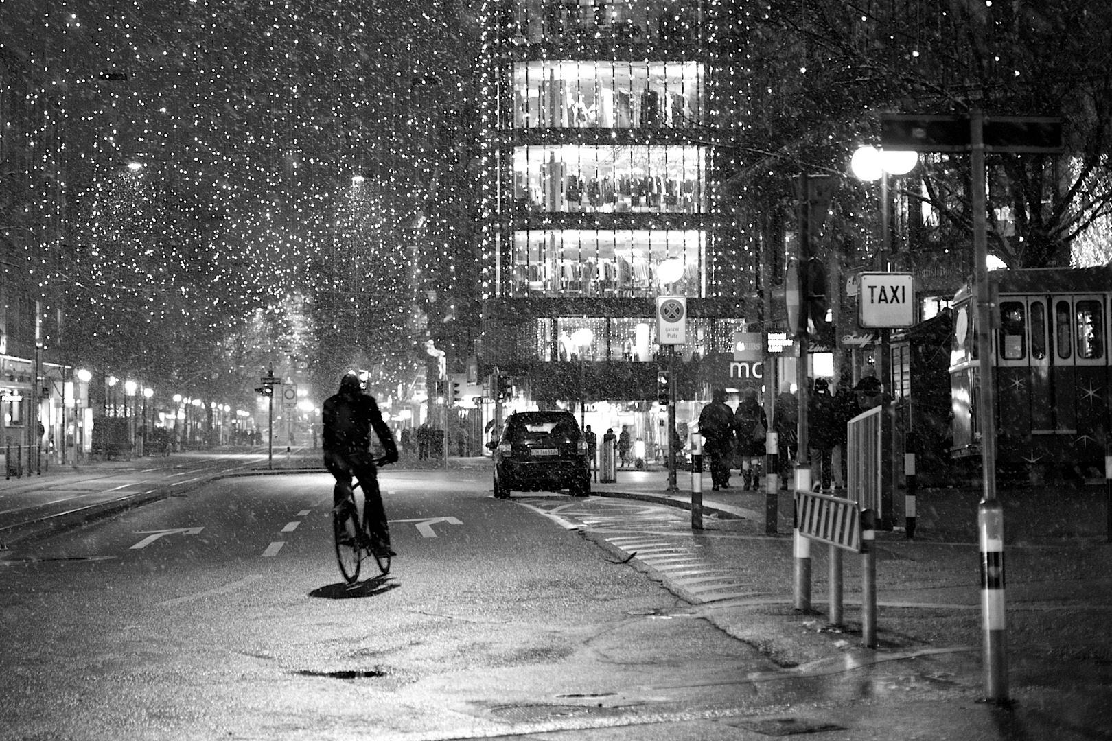 Der Fahrradfahrer