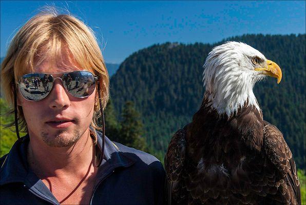 Der Falkner und sein Adler II