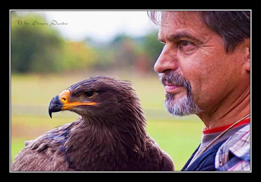der Falkner und sein Freund ...