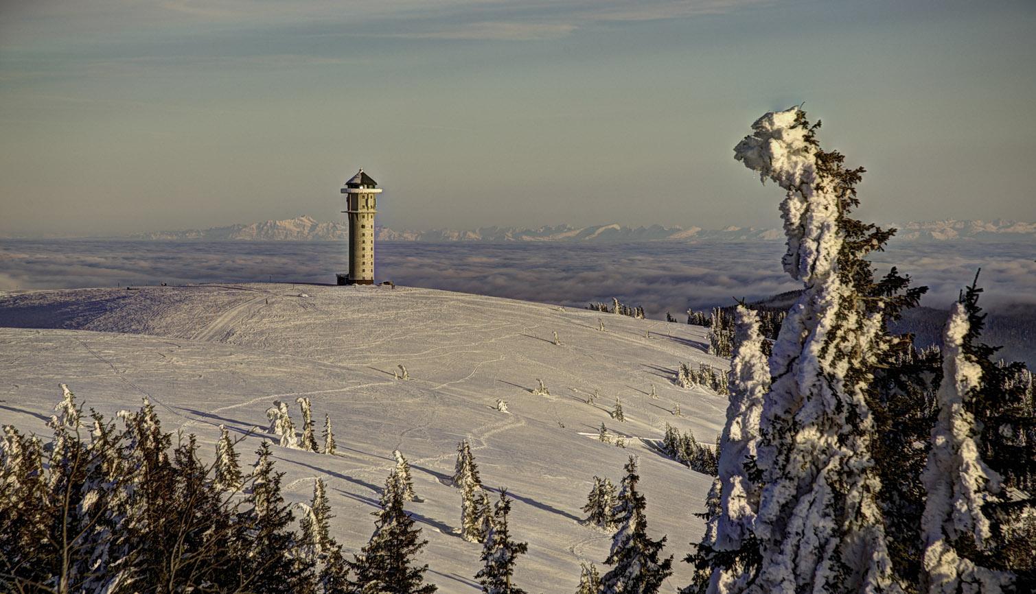 Der Feldbergturm...