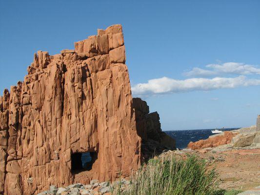 Der Fels von Arbatax