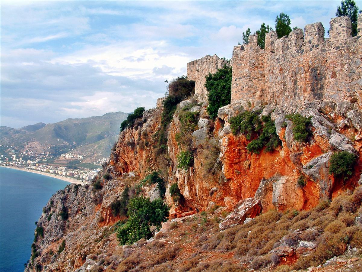 Der Felsen von Alanya.