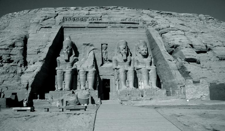 Der Felsentempel von Abu Simbel