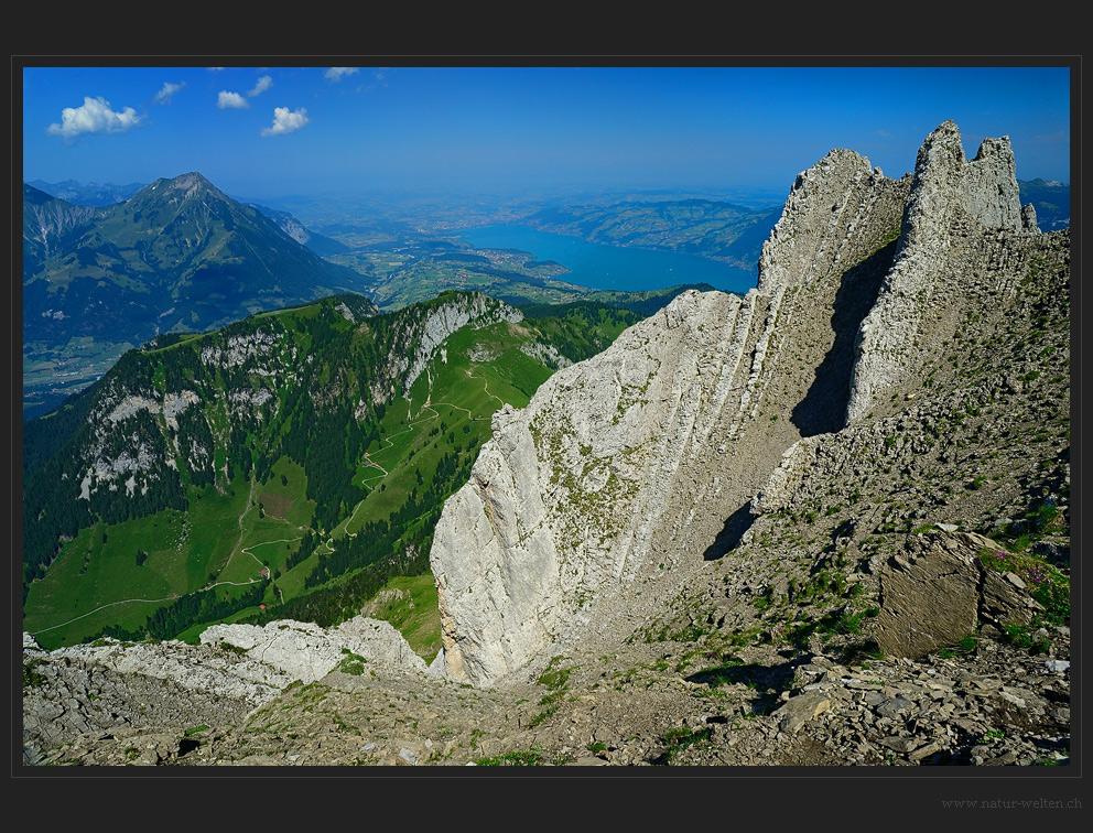 Der Felskragen des Dreispitz