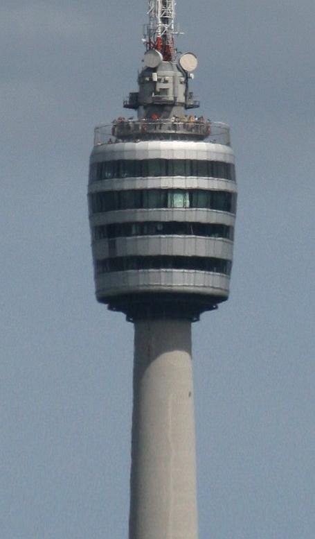 Der Fernsehturm - eines der Stuttgarter Wahrzeichen