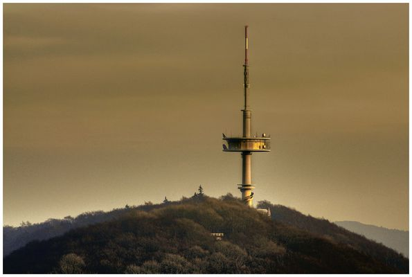 Der Fernsehturm in Porta Westfalica