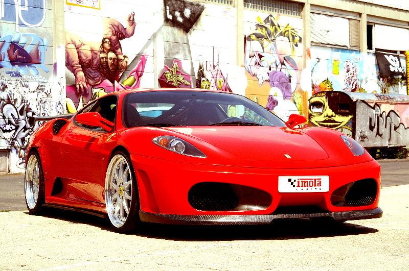 Der Ferrari 430 mit Tuning von Imola Racing