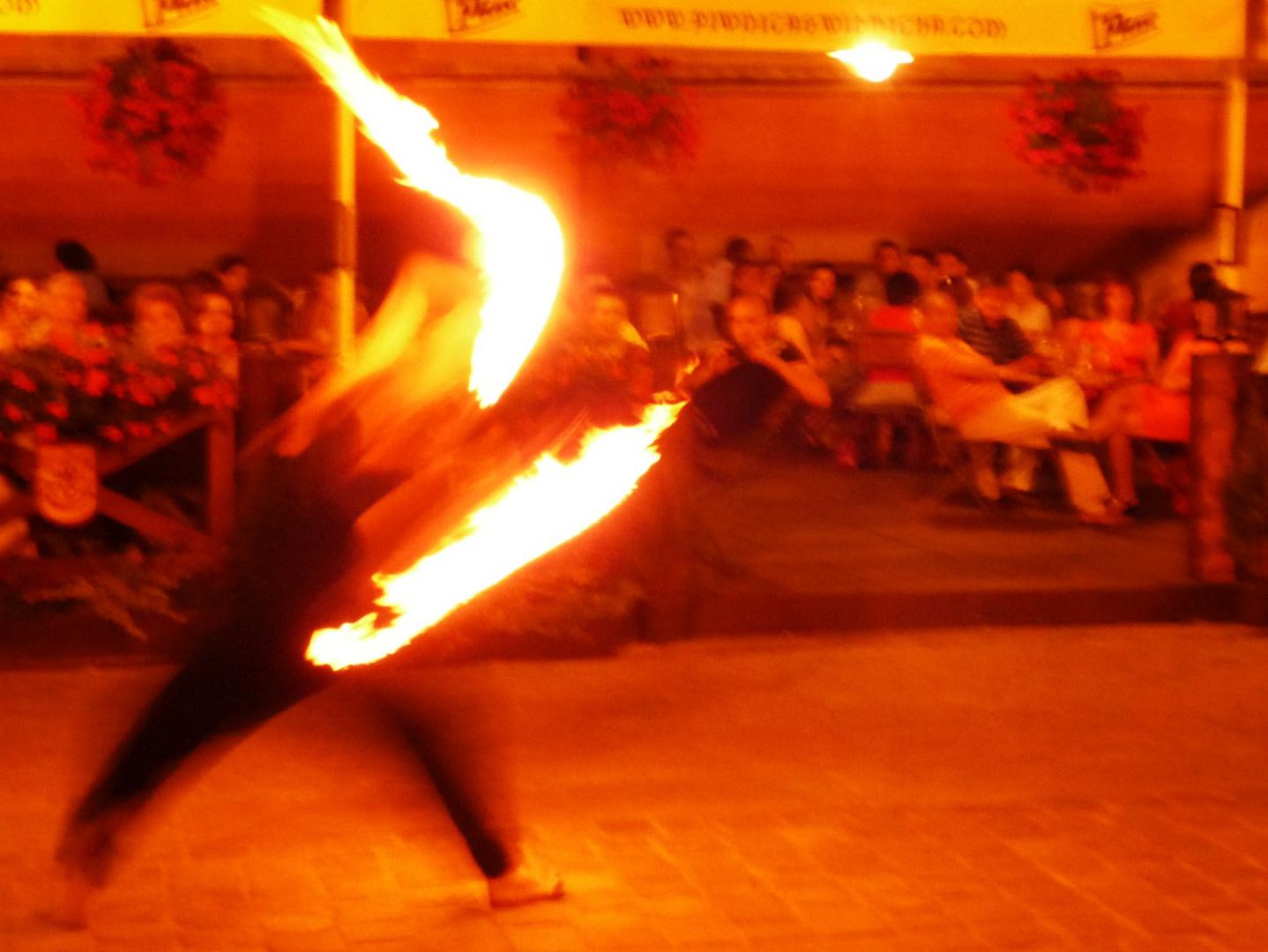 Der Feuerartist II