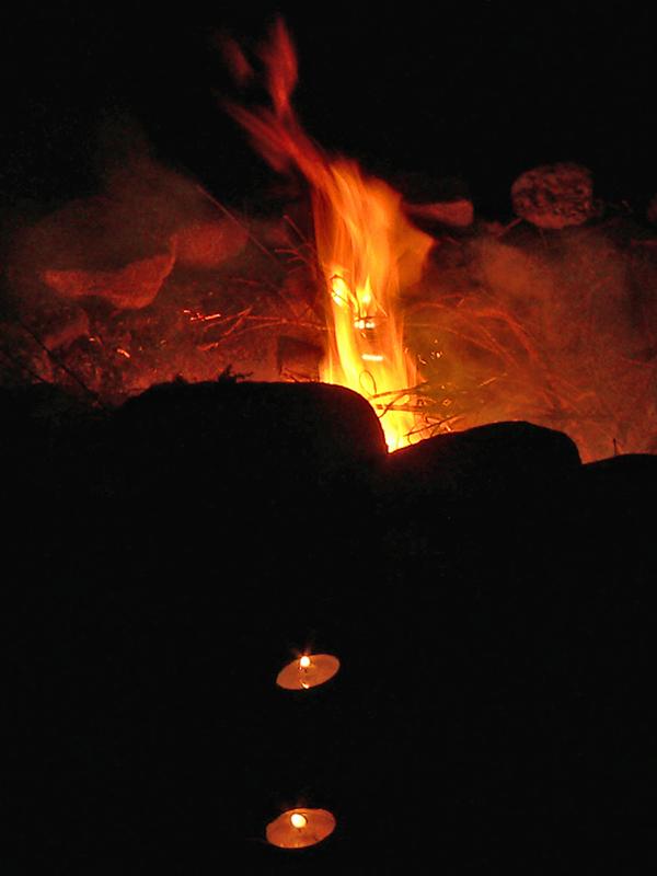 Der Feuerteufel und zwei arme Seelen