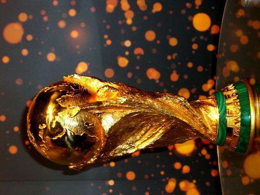 Der Fifa-WM-Pokal.