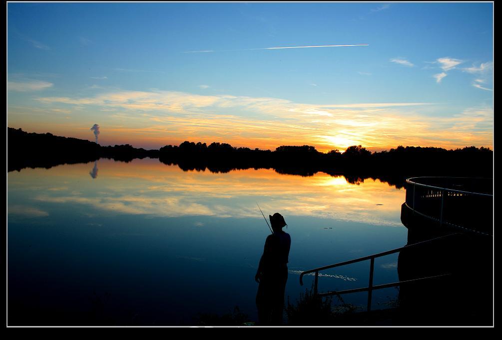 Der Fischer am Abend