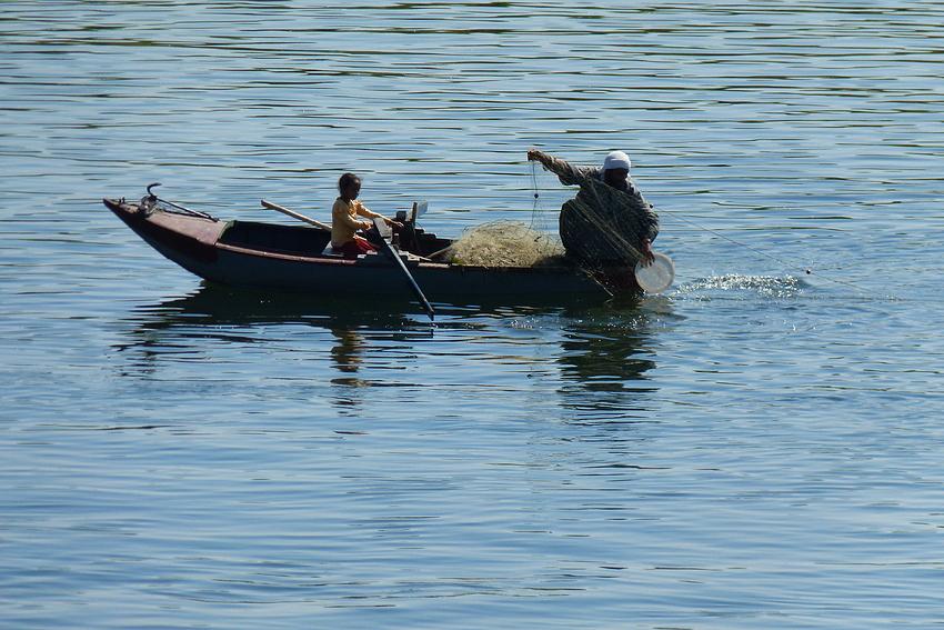 ...der Fischer und das Mädchen...