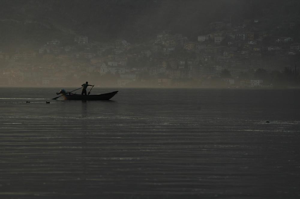 Der Fischer vom Lago de Iseo