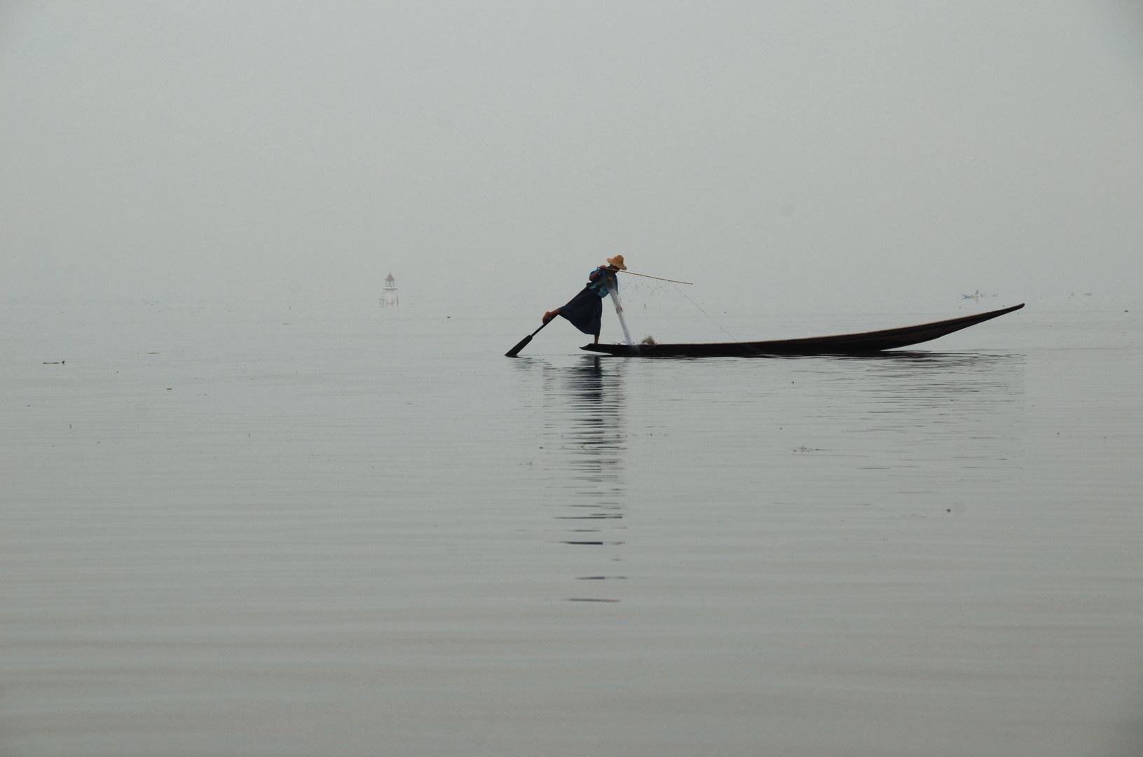 Der Fischer von der Inle see