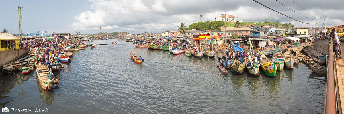 Der Fischerhafen von Elmina II