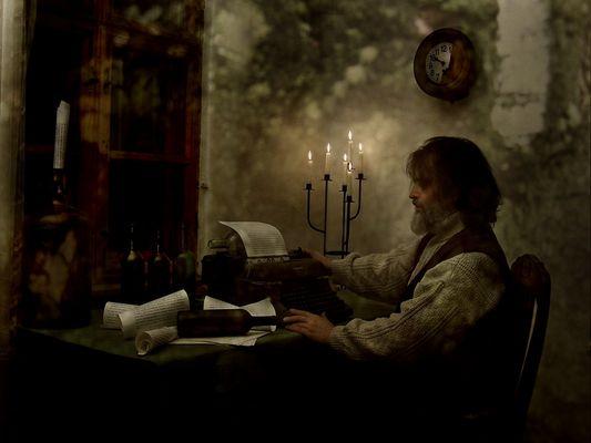 Der Flaschen-Brief-Schreiber