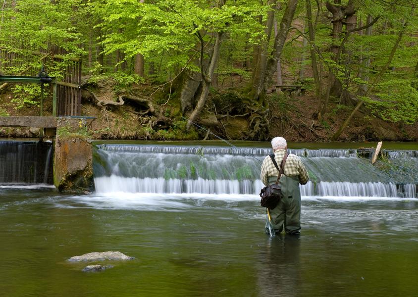 Der Fliegenfischer von Marco Kahrau
