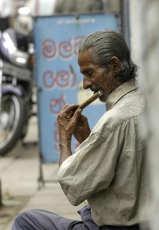 Der Flötenspieler von Colombo